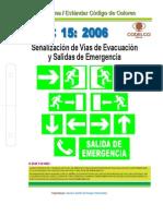 NECC 15 - SEÑALIZACION VIAS DE EVACUACION