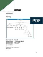 Grammar Workbook Parsing 2012-2013