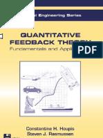 C Houpis - Quantitative Feedback Theory