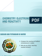 Chemistry- Reactivity and Electrons