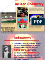 Radioactivity & Types of Particles