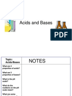 Acids & Bases & Acid Rain Copy