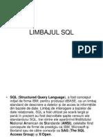 LIMBAJUL SQL