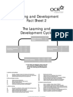 87385 Factsheet 2 the Learning and Development Cycle