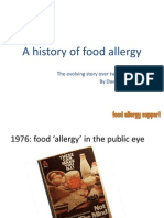 A History of Food Allergy
