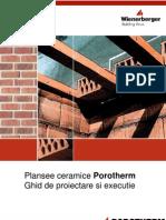 Instructiuni de Montaj Plansee Ceramice Porotherm