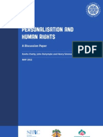 Personalisation and Human Rights