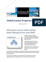 Butterfly Residential - Monthly Global Luxury Property Review 2- 2013