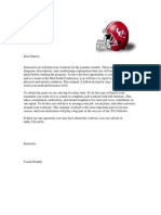 3rd Edition Summer Conditioning Packet 2012