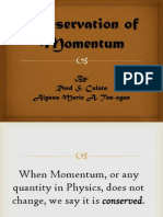 Conservation of Momentum Roed and Alyssa