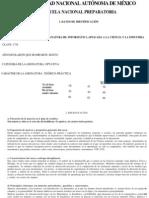 Plan de Estudio UNAM 6to Semestre Informatica