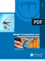 Mobile Transaction Payment Processing