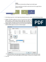Set Up a Document for Printing Booklets