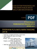 LKI 12 PLN TJB - Sootblower modification
