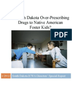 Is South Dakota Over-Prescribing Drugs to Native American Foster Kids?