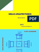 DIBUJO ARQUITECTONICO