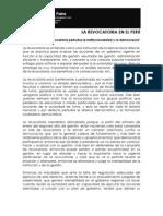 La Revocatoria en El Peru 2
