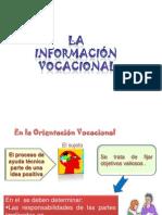 6TA CLase LA INFORMACIÓN VOCACIONAL