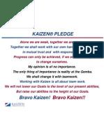Kaizen® Pledge