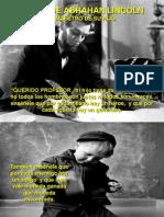 Carta de Abrahan Lincoln