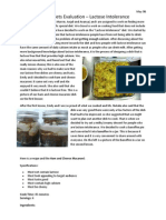 May Foodtech Lactose Reflection