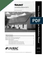 UNIRAC Solar Mount Code