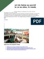 Marii Retaileri de Haine Au Pornit Invazia