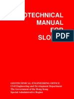 Geotechnical Manual for Slopes