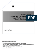 5-Mode Oscar Editor English Manual