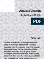 Analisis Vitamin 9