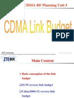 CDMA Link Budget