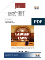 Labor Laws and Implications HRM
