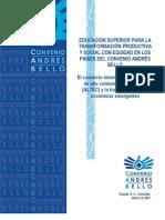 COMERCIO MUNDIAL DE BIENES DE ALTA TECNOLOGÍA y la transformación de ECONOMÍAS EMERGENTES. EL GRAN DESAFIO DE AMÉRICA LATINA
