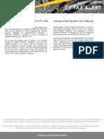 Tax Alert - Aumento de UT a Bs.107