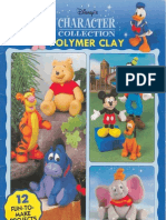 Disney Character Collection Polymer Clay