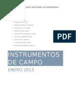 Instrumentos de Campo