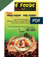 Irie Foods Flyer
