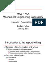 Lab Rep t Writing 2011