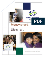 Make a Difference - Wisconsin 2011-2012 Annual Report