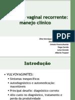 Candidíase vaginal recorrente impORTANTE