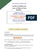 Acido-basique (PCEM 1)