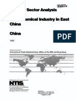 Petrochemical Industry in East China