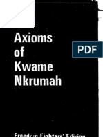 Axioms Kwame Nkrumah