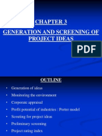 Chapter 3 Generation and Screening of Project Ideas