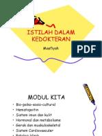 Microsoft PowerPoint - IsTILAH DALAM KEDOKTERAN [Compatibility Mode]