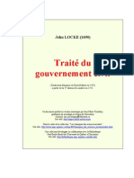 John Loke Traite Du Gouvernement Civil