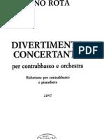 Nino Rota - Divertimento Concertante_piano
