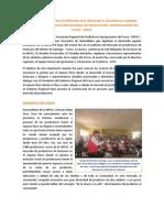 Arpac y Huancaro Evento de Autoridades