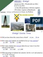 Topic 1 Earth Energy