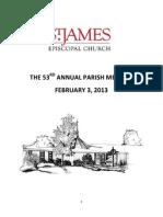 2013 annual parish meeting pdf